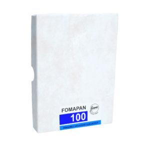 Fomapan 100, листовая пленка 9x12 cm 50 листов