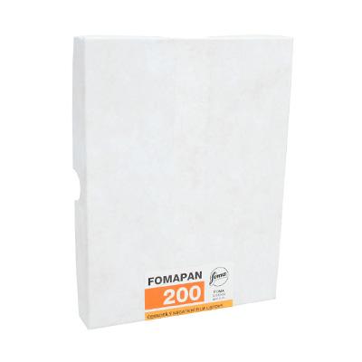 Fomapan 200, листовая пленка 9x12 cm 50 листов