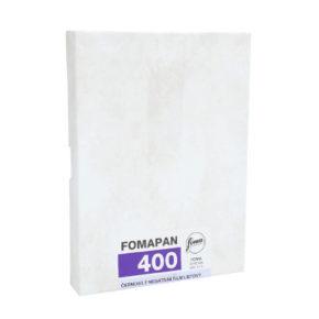 Fomapan 400, листовая пленка 9x12 cm 50 листов